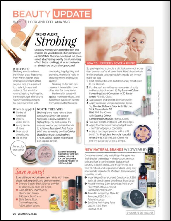Your Family Magazine has featured Style Secret_SA in their August 2017 issue. Go check it out on page 26!! #stylesecret #yourfamily #rootconcealer #beautytips #hair #hairtips