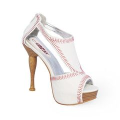IN STOCK Ready to show your support for your favorite sluggers? Try on these unique Baseball themed heels from Herstar™!!...