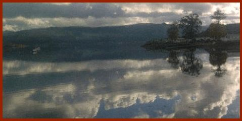 calm waters on Loch Fyne at Inveraray