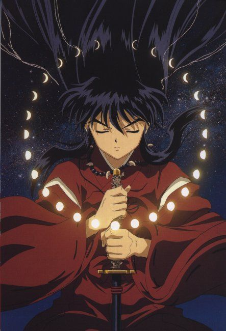 The Black haired Inuyasha! Love this episode!!  And all of them that the change occurs actually!!
