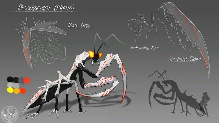 RWBY Grimm Mantis