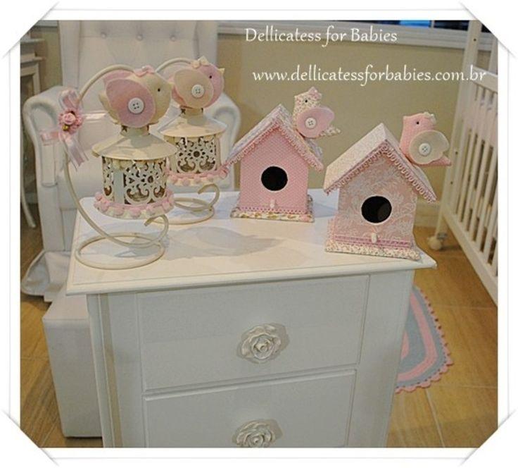 decoração passarinho,festa passarinho,chá de bebê passarinho,enfeite de mesa,casa de passarinho