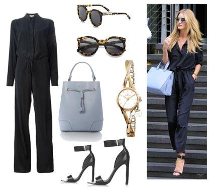 Date Night Luxurious in Black Jumpsuit by Josefinaelizalde on Set That -