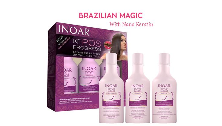 The new #Inoar #Nano #Keratin #Aftercare #Shampoo with #Argan #oil