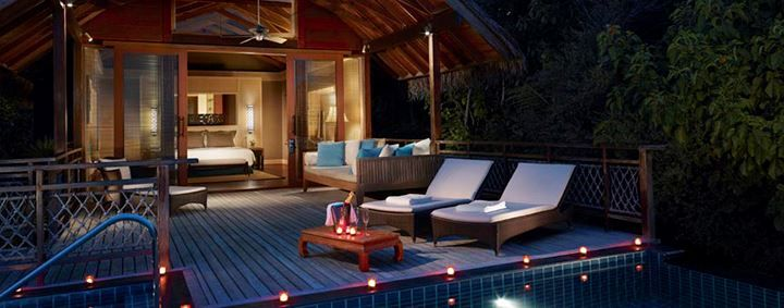 Our Pool Villa at Villingili Resort and Spa Male, Maldives offers stylish and luxurious space with modern amenities.