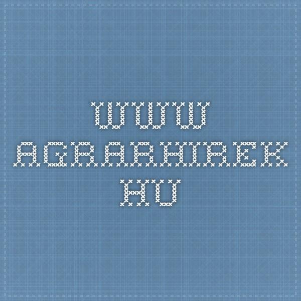 www.agrarhirek.hu