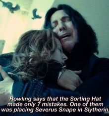 Alan Rickman died today as many of you may know... All I know is for me it felt like Snape had died all over again... ... Always...