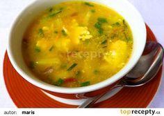 Polévka z houbové smaženice recept - TopRecepty.cz