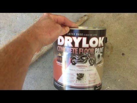 Drylok latex concrete floor paint reviews floor matttroy for Drylok e1 1 part epoxy floor paint
