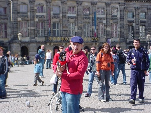 Anthony Rubio and Bandit visit Amsterdam, Netherlands