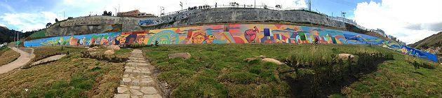 Bogotá mural más grande Colombia, Nación - Semana.com - Últimas Noticias