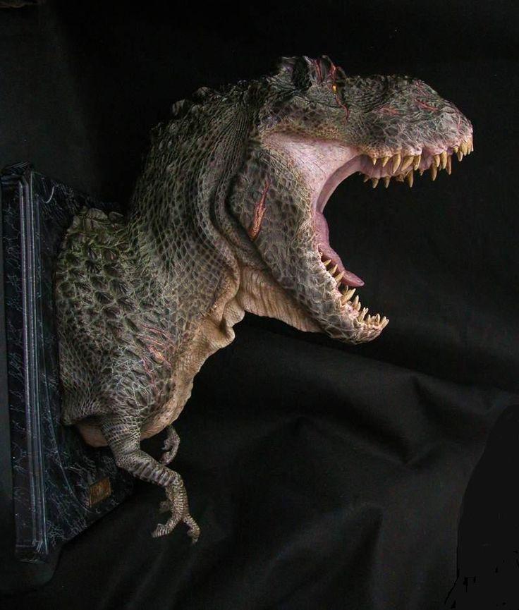 Dragonstooth Miniatures » Blog Archive » V-Rex Bust