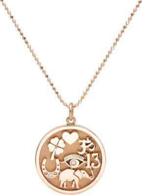 Jennifer Meyer Good Luck Charm Pendant Necklace