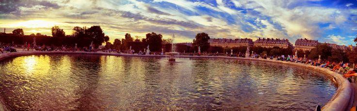 Paris - Jardin de Tuileries