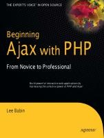 Beginning Ajax with PHP from Novice to Professional - Download - 4shared - Trang Kie