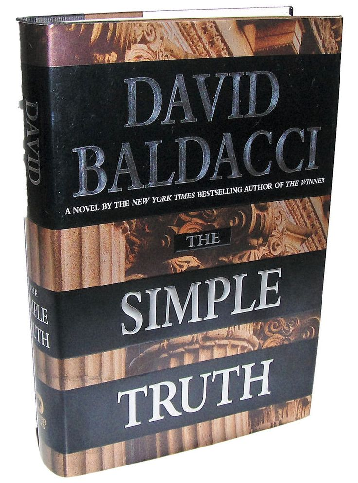 THE SIMPLE TRUTH by David Baldacci, 1998, 1st Edition, 1st Printing, HC