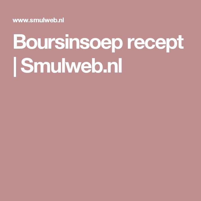 Boursinsoep recept | Smulweb.nl