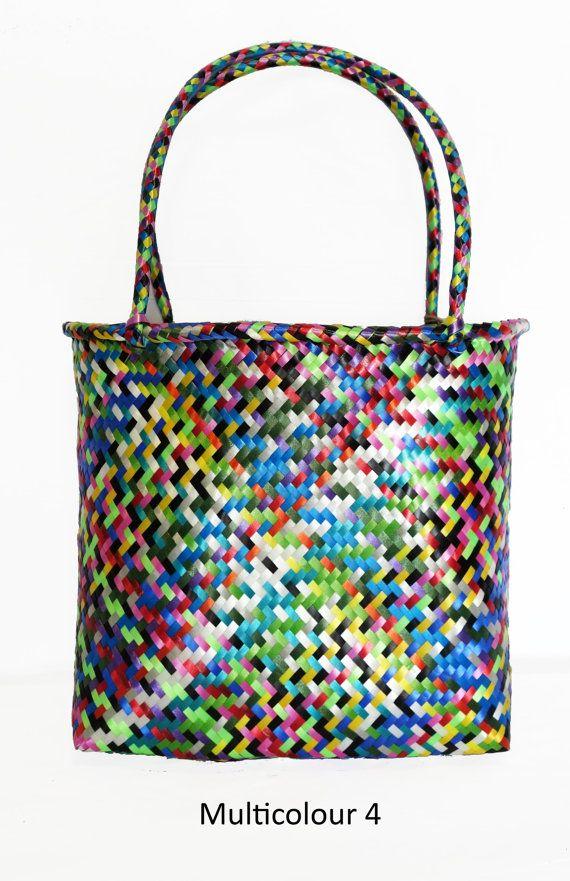 Bolsa mexicana a mano  Multicolor