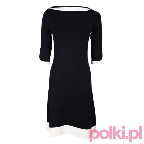 Czarna sukienka Bonprix #polkipl