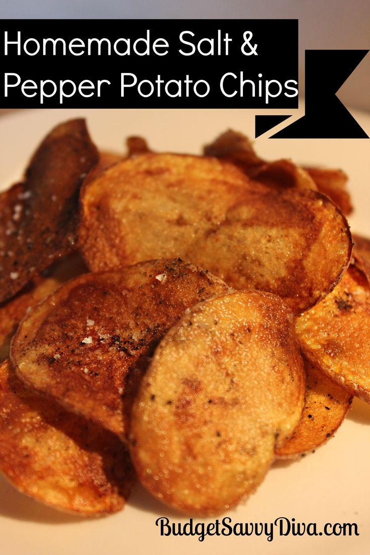 If you have not made your own potato chips you are seriously missing out!