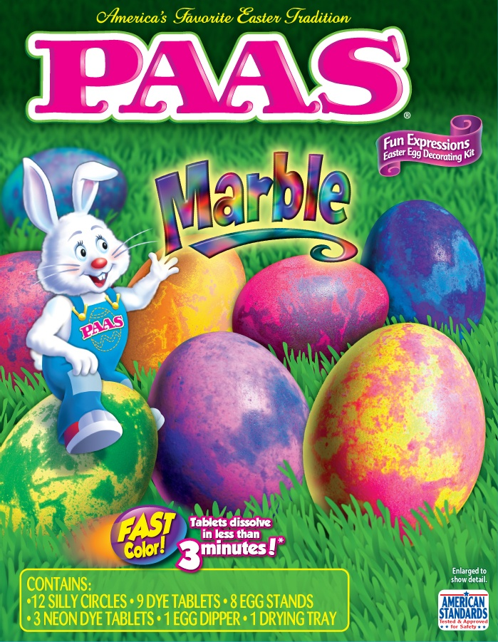 PAAS Marble, egg decorating kit easter PAAS Egg