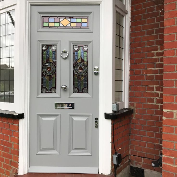 Handmade period front doors made using accoya timber supplied and fitted in London & 22 best Period Front Doors images on Pinterest | Bespoke Custom ...