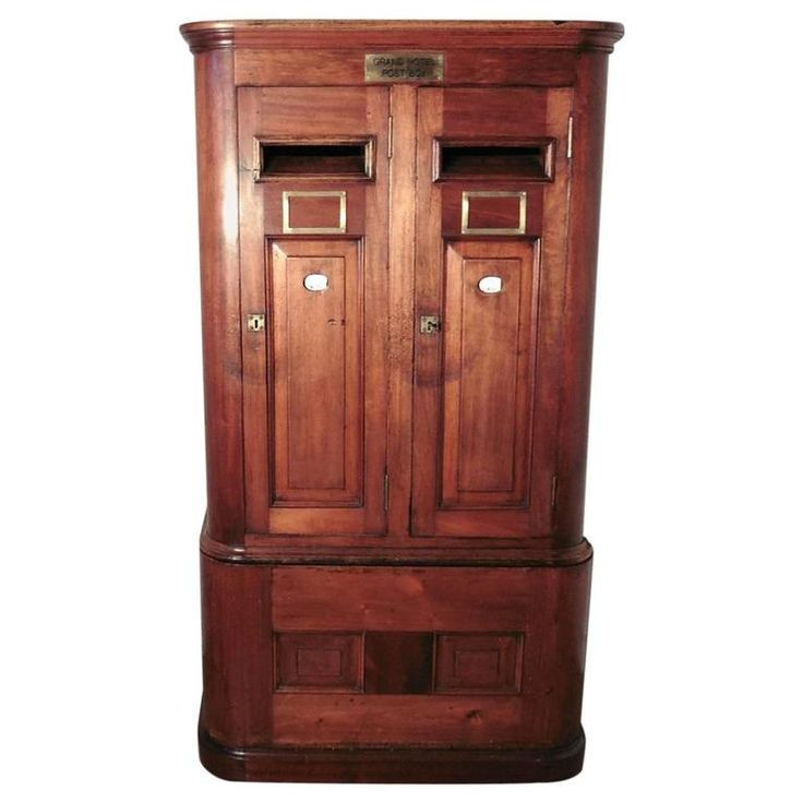 Large 19th Century Victorian Grand Hotel Post Box, Country House Letter Box   From a unique collection of antique and modern architectural elements at https://www.1stdibs.com/furniture/building-garden/architectural-elements/