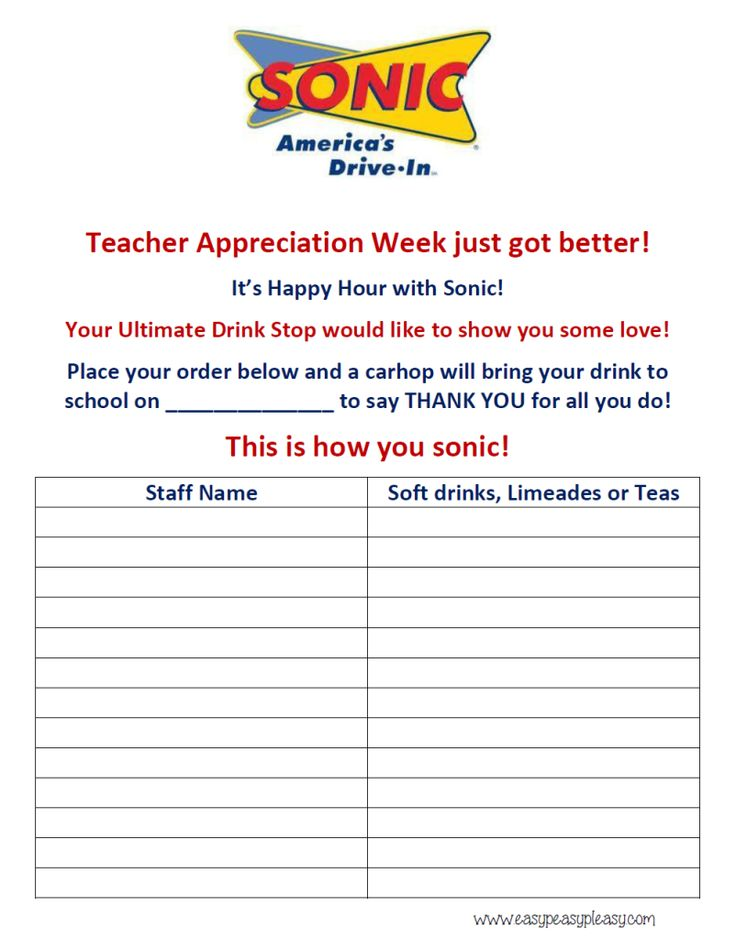 Best Pto Images On   Teacher Appreciation  Years