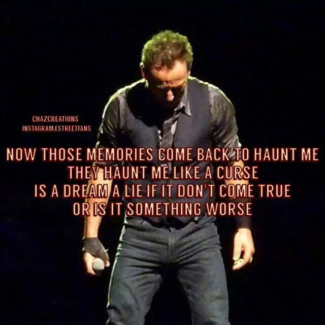 25  best bruce springsteen quotes on pinterest