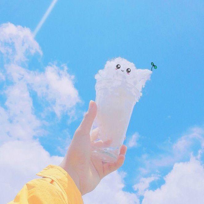 Gambar Mungkin Berisi Awan Langit Dan Luar Ruangan Awan Pemandangan Poster Bunga