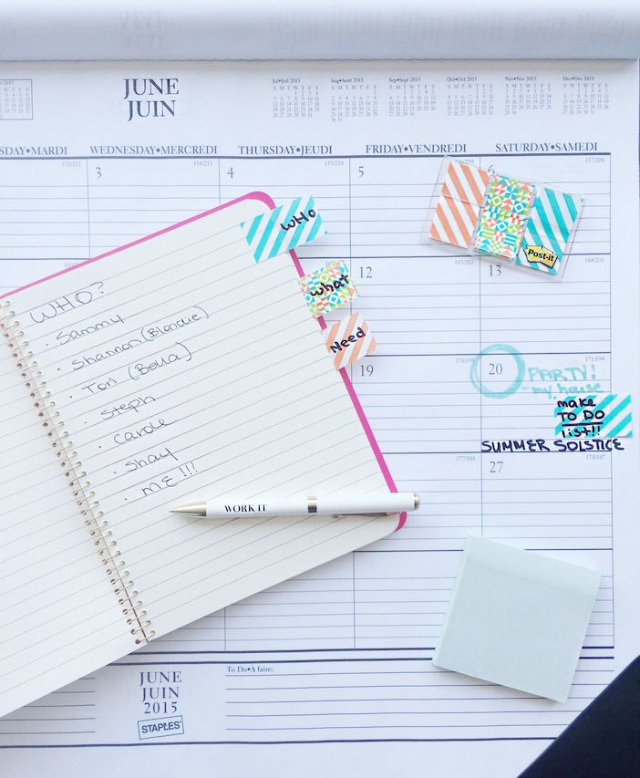 Party Planning for the best BFF Summer Solstice Party! #Postitideas