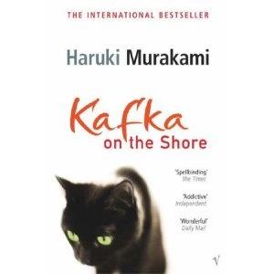 Kafka On The Shore by Haruki Murakami - great cover too