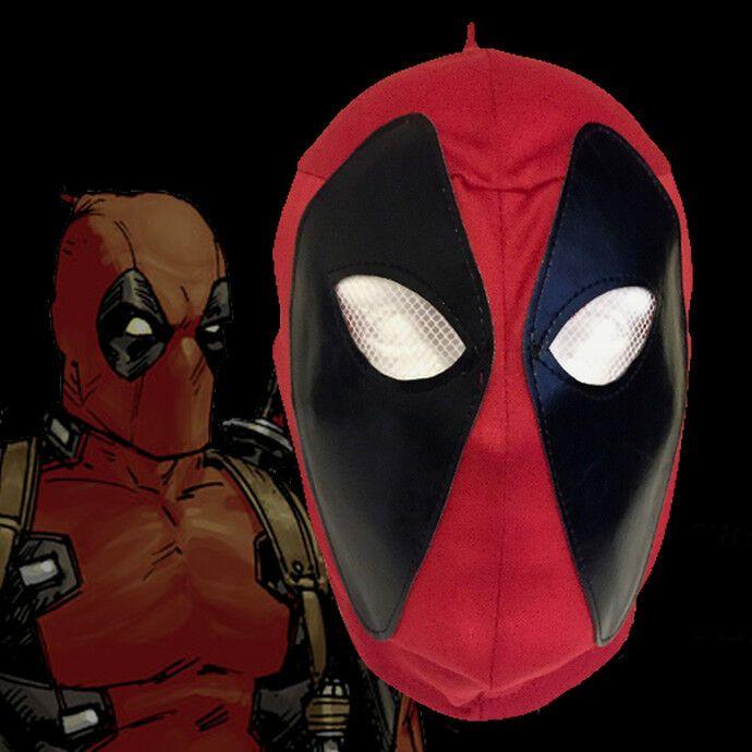 DEADPOOL Full head Marvel Halloween Movie Costume Mask Cosplay Kids or Adults