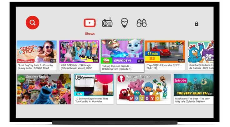 YouTube Kids app expands to more smart TVs Android TV support in the works