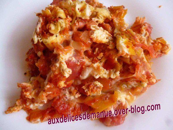 Voilà un repas très peu calorique, et surprenant, car le goût du poireau est très atténué par les tomates concassées. J'ai trouvé ce plat très agréable malgré une présentation pas très appétissante. J'ai réalisé ce plat à l'aide du Cookéo, vous pouvez...