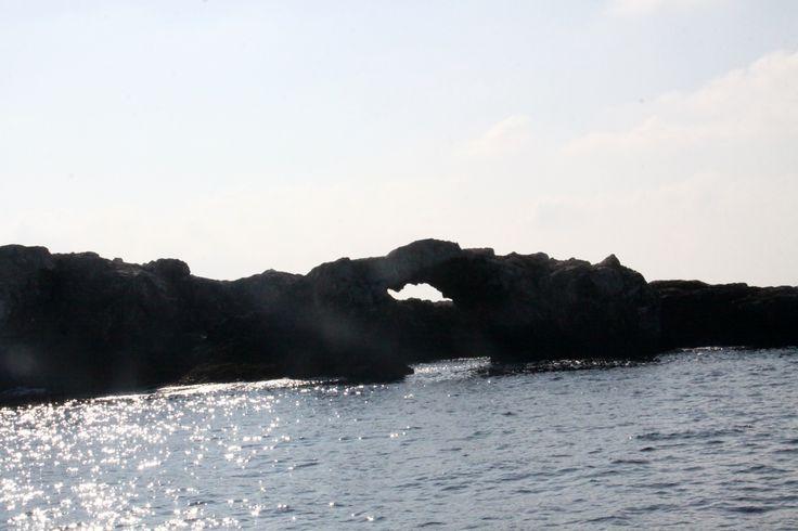 Isola di Capraia: arco dell'amore