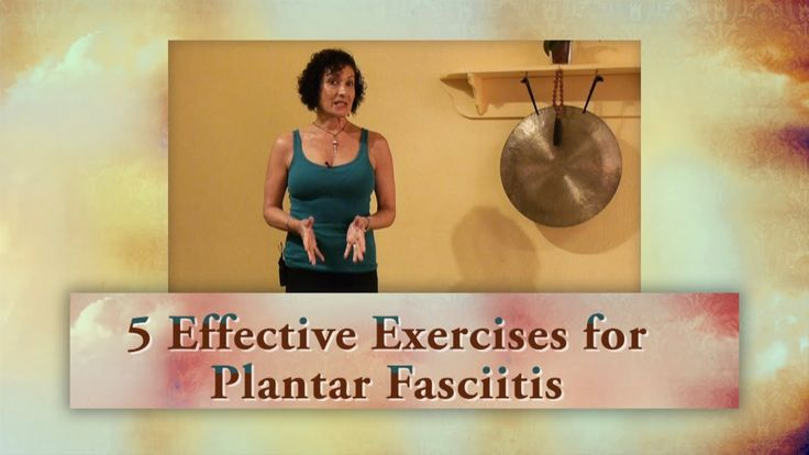 5 Effective Exercises for Plantar Fasciitis with Lulu Peelle, Yoga Thera...