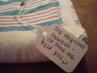 """tag"" your special baby items with a memory and keep them in a memory box for later on :)"