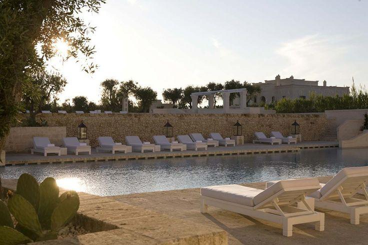 Swimming pool, Borgo Egnazia @borgoegnazia #Apulia #Italy #luxurytravel