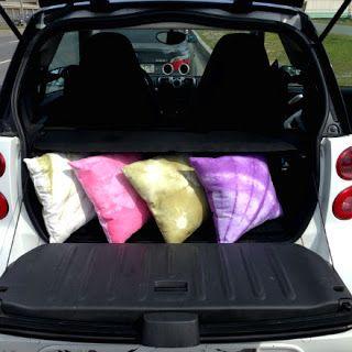 Летние бохо-подушки для пикников и дачи в стиле шибори