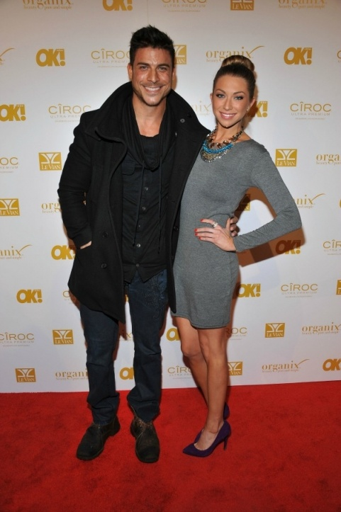 The gorgeous Jax Taylor of Vanderpump Rules on the red carpet at the OK Magazine Grammy party in Parasuco jeans <3