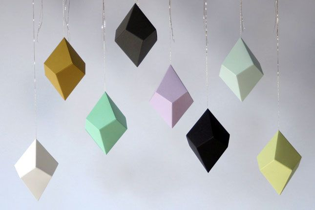 Dodecawhat? 20 Gorgeous Geometric Objects for Your Home via Brit + Co.