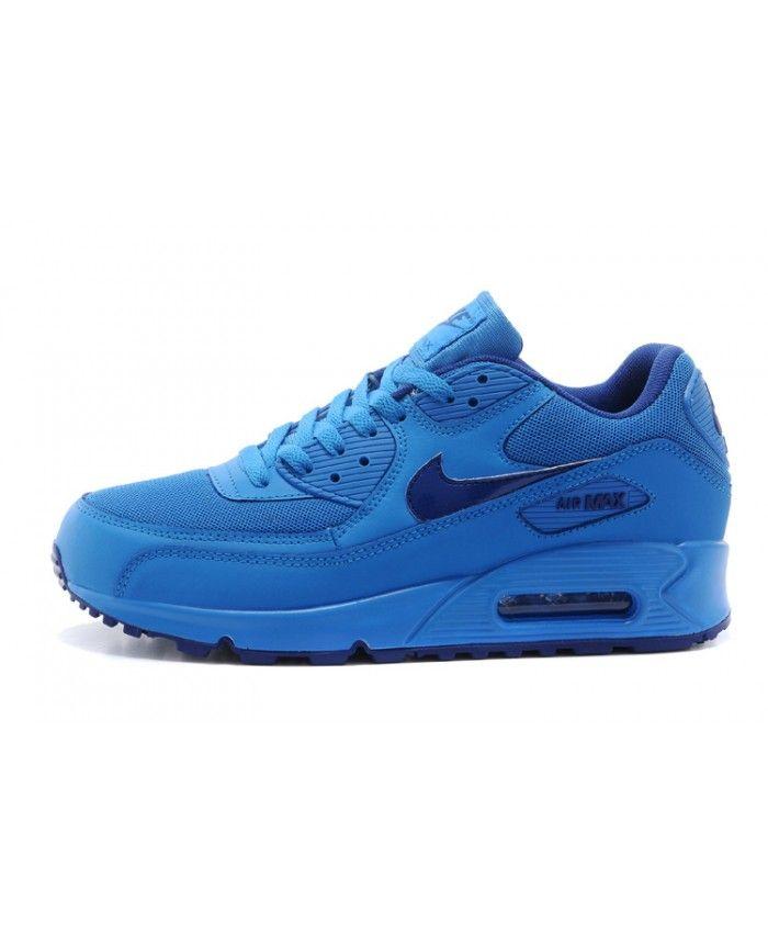 nike air max 90 chaussures bleu