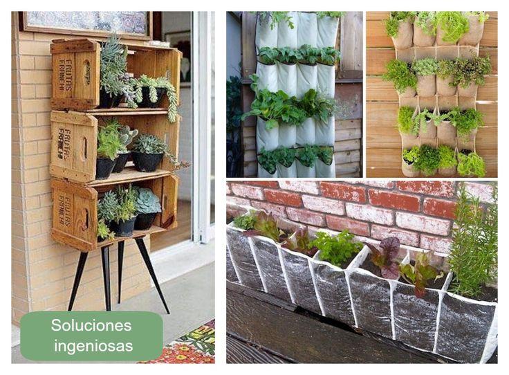 Grandes ideas para pequeños balcones.  Exterior