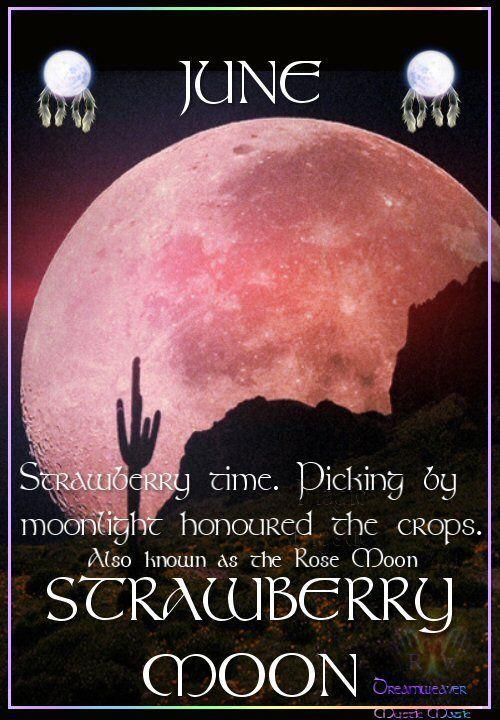 Strawberry Full Moon Friday June 13, 2014-Click Picture For Full Article