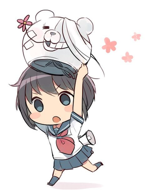 Komaru & Shirokuma | Danganronpa Another Episode: Ultra Despair Girls