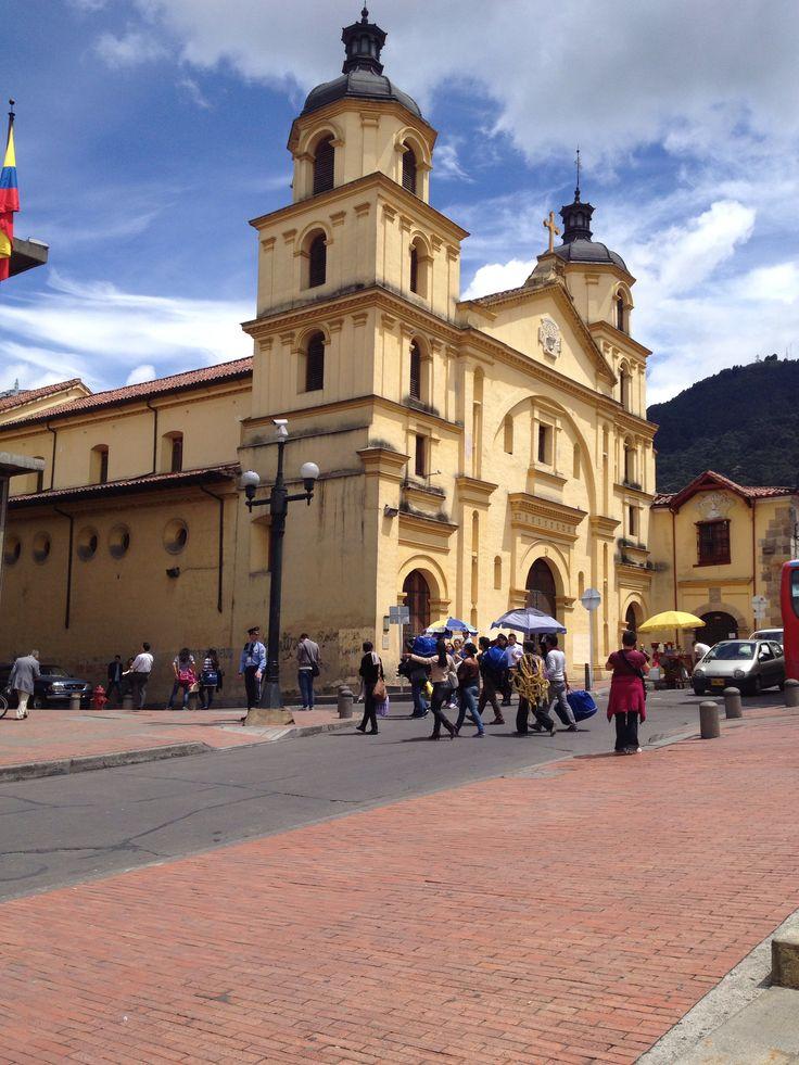 Iglesia de la Candelaria. Bogota