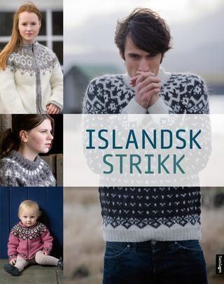 Islandsk strikk Første strikkebok på norsk med islandske mønster #Samlaget