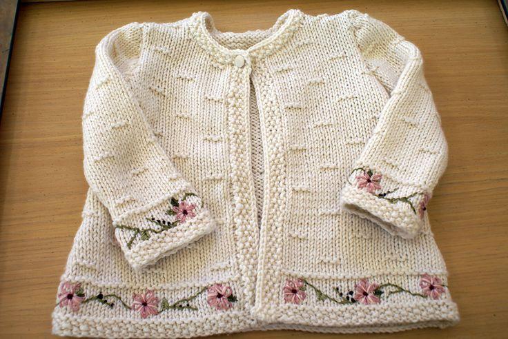 Ravelry: Галерея проектов для # 15 Детские куртки модели Микеле роз Орн
