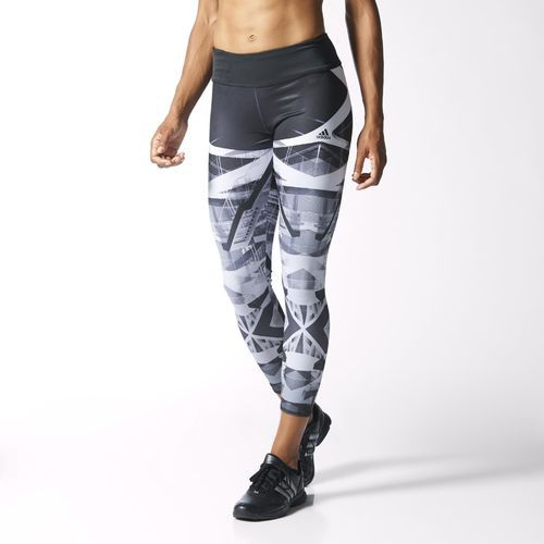 adidas - Calzas Largas de Training Studio Power Laces Mujer